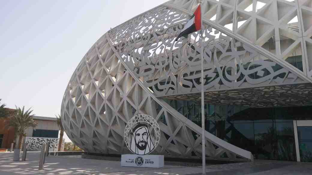 Fabricated Signage - YEAR OF ZAYED