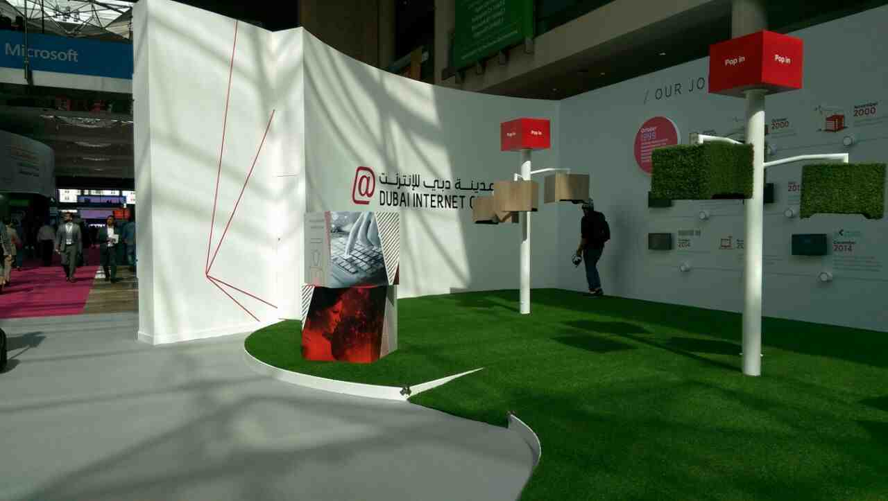 Event Branding - Dubai Internet City