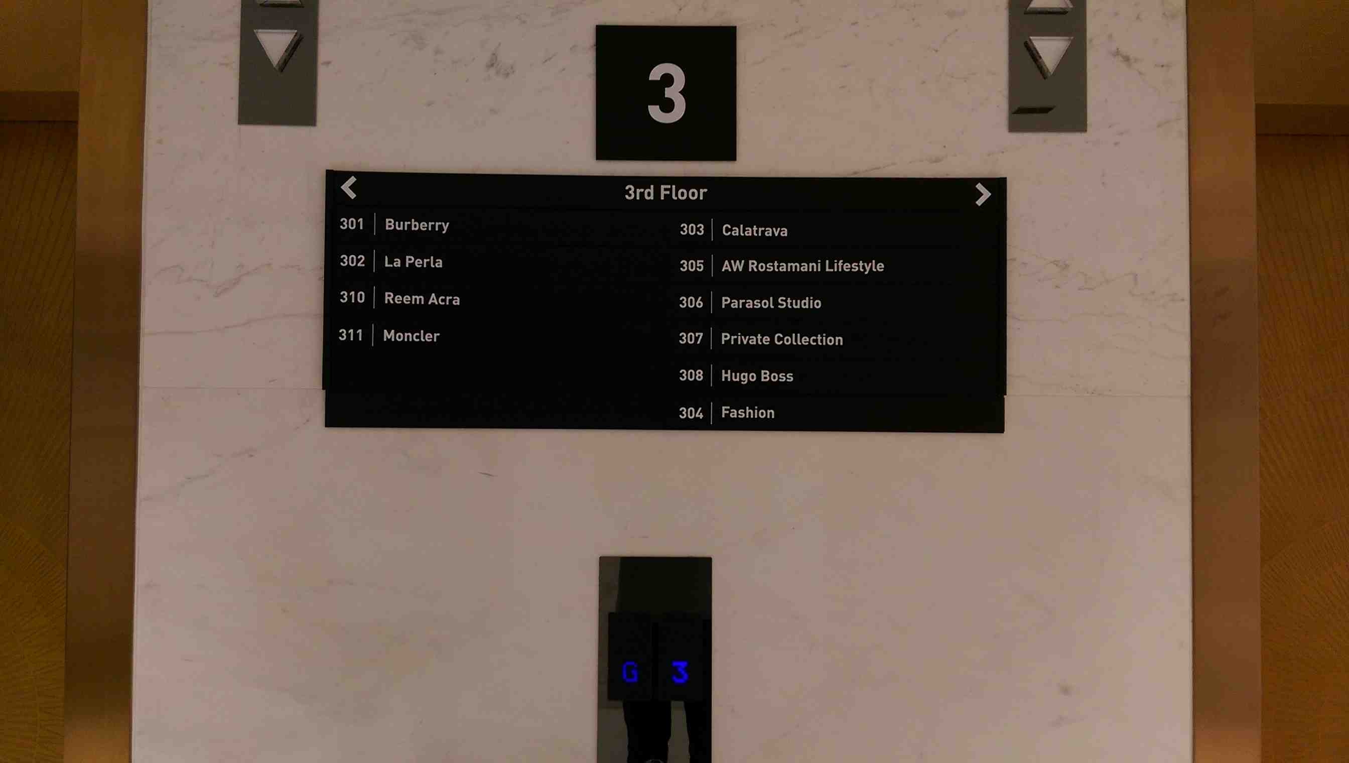 Internal Way Finding Signage