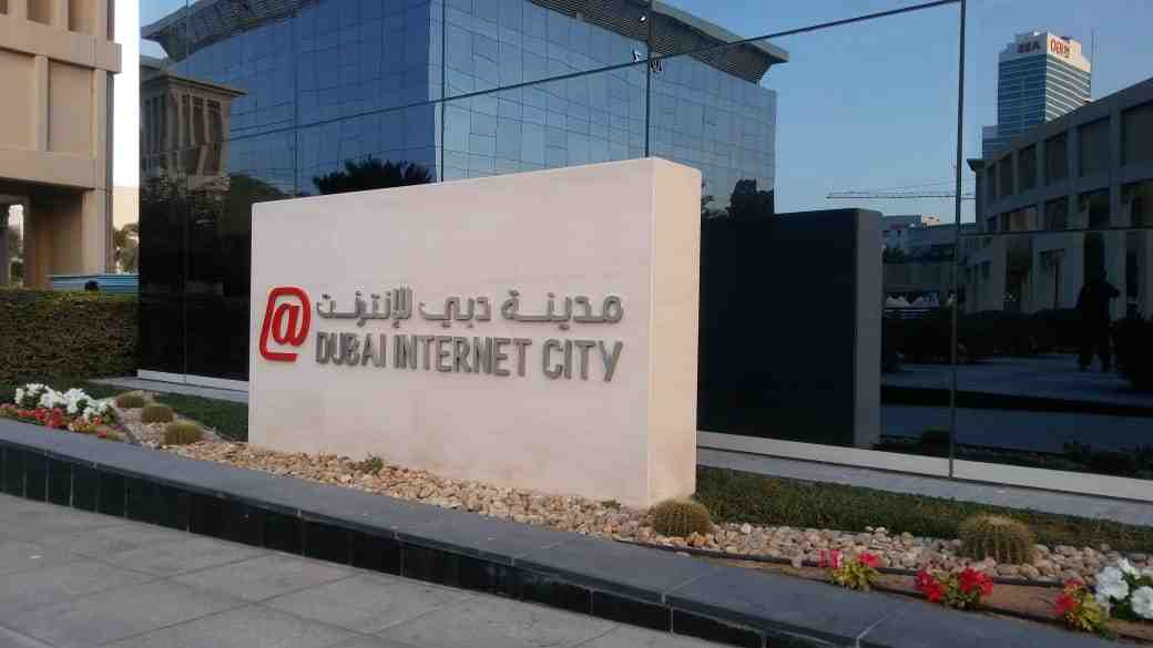 Fabricated Signage - DUBAI INTERNET CITY